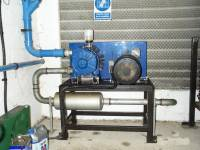 Alfa Laval VP77 vacuum pump set